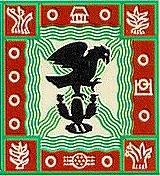 Escudo representativo prehispánico de la Ciudad de México