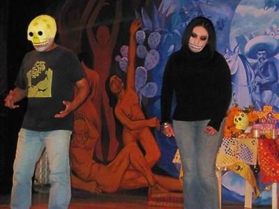 Teatro día de muertos